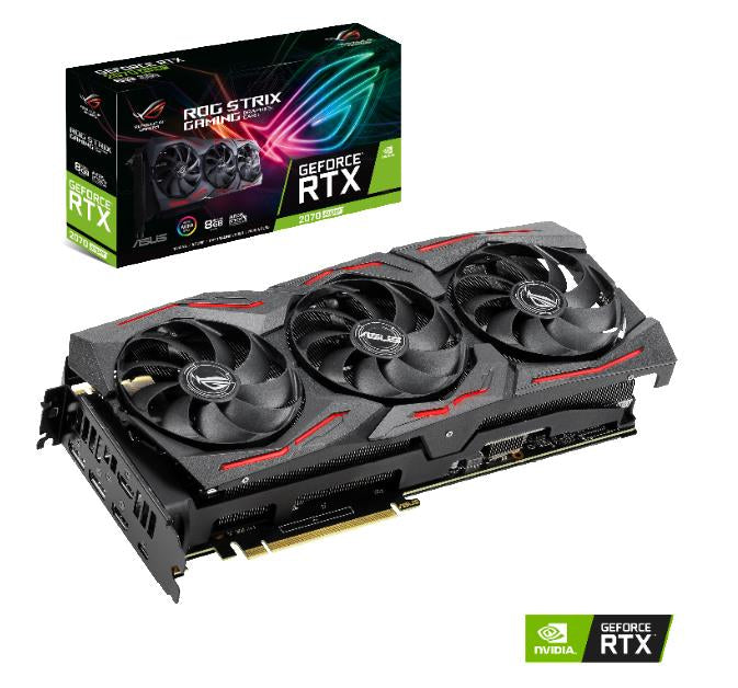 ASUS ROG STRIX-RTX2070S-8G-GAMING graphics card NVIDIA GeForce RTX 2070 SUPER 8 GB GDDR6