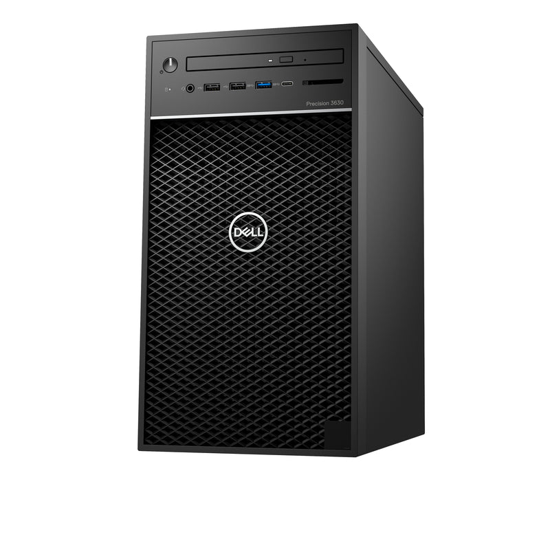 DELL Precision 3630 E-2274G Tower Intel Xeon E 16 GB DDR4-SDRAM 512 GB SSD Windows 10 Pro PC Black