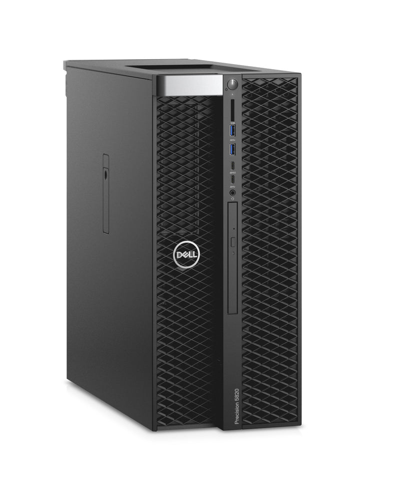 DELL Precision T5820 9th gen Intel® Core™ i9 i9-9920X 16 GB DDR4-SDRAM 512 GB SSD Tower Black Workstation Windows 10 Pro