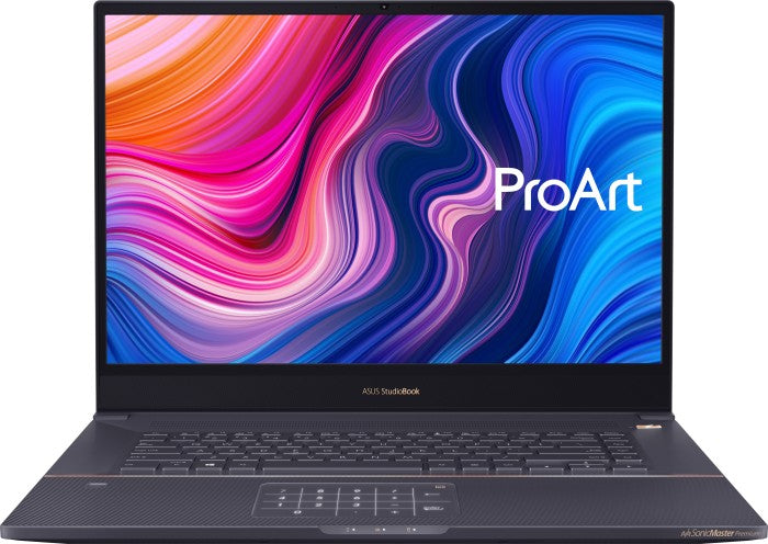 "ASUS ProArt StudioBook Pro 17 W700G1T-AV050R Notebook 43.2 cm (17"") 1920 x 1200 pixels 9th gen Intel® Core™ i7 16 GB DDR4-SDRAM 512 GB SSD NVIDIA Quadro T1000 Wi-Fi 6 (802.11ax) Windows 10 Pro Grey"