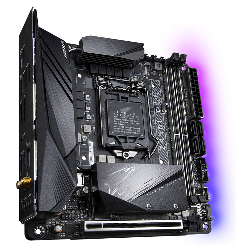 Gigabyte Z490I AORUS ULTRA (rev. 1.x) LGA 1200 mini ITX Intel Z490