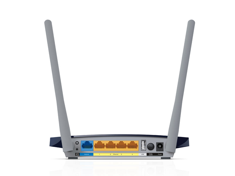 TP-LINK Archer C50 V1 wireless router Dual-band (2.4 GHz / 5 GHz) Fast Ethernet Black