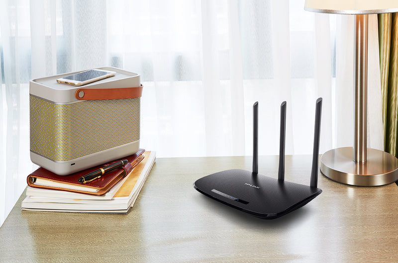 TP-LINK TL-WR940N wireless router Single-band (2.4 GHz) Fast Ethernet Black