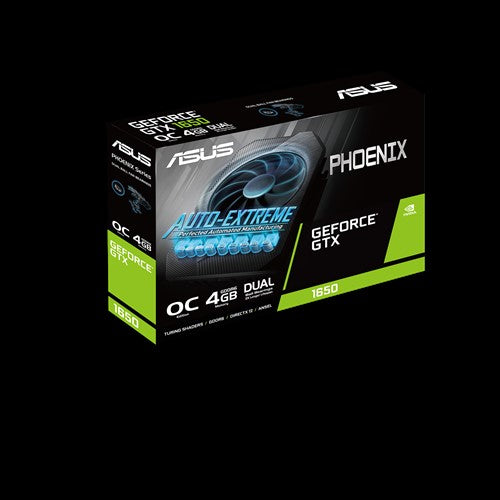 ASUS Phoenix PH-GTX1650-O4GD6 graphics card NVIDIA GeForce GTX 1650 4 GB GDDR6