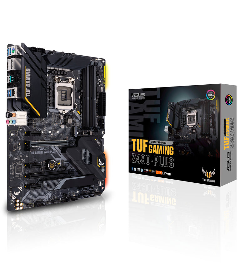 ASUS TUF Gaming Z490-PLUS Intel Z490 LGA 1200 ATX