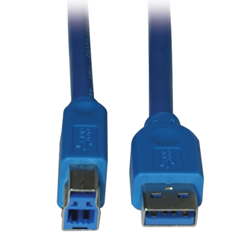 Tripp Lite USB 3.0 SuperSpeed Device Cable (AB M/M), 3.05 m