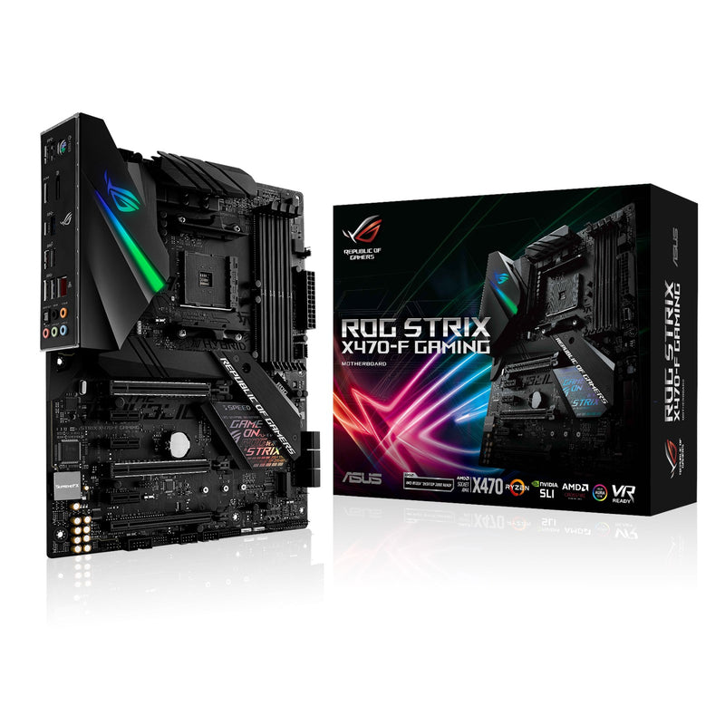 ASUS ROG STRIX X470-F GAMING Socket AM4 ATX AMD X470