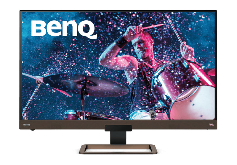 "Benq EW3280U 81.3 cm (32"") 3840 x 2160 pixels 4K Ultra HD LED Black, Brown"