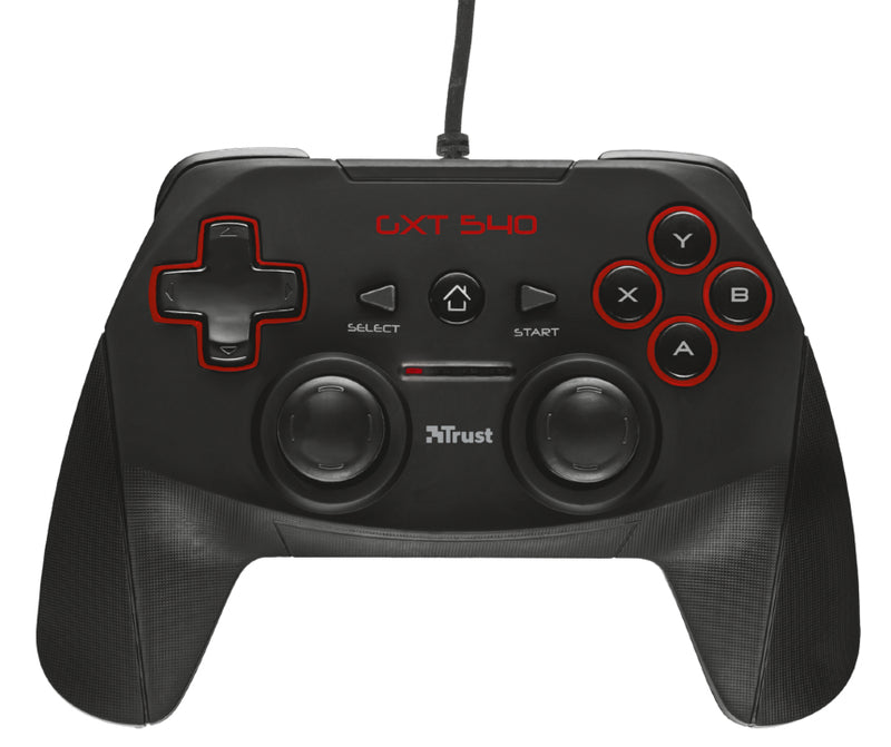 Trust GXT 540 Black RF Gamepad PC, Playstation 3