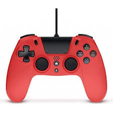 Gioteck VX-4 Wired Controller PS4 Red (6/24) Gamepad PlayStation 4