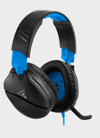 Turtle Beach Recon 70 Headset Head-band Black, Blue 3.5 mm connector