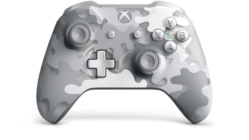 Microsoft Xbox Wireless Controller Gamepad PC, Xbox One, Xbox One S, Xbox One X Camouflage, Grey