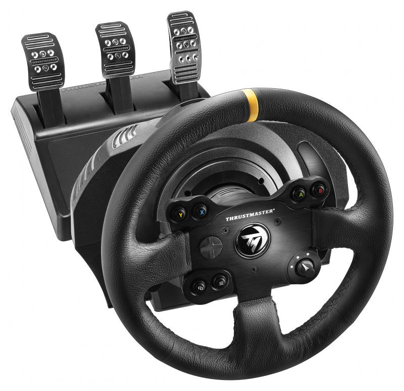 Thrustmaster TX Racing Wheel Leather Steering wheel + Pedals PC, Xbox One Analogue Black