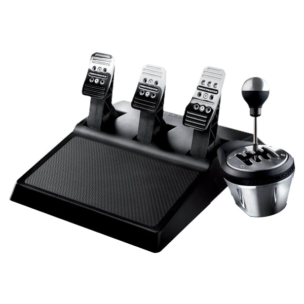 Thrustmaster TH8A & T3PA PC, PlayStation 4, Xbox One Analogue USB Black, Chrome