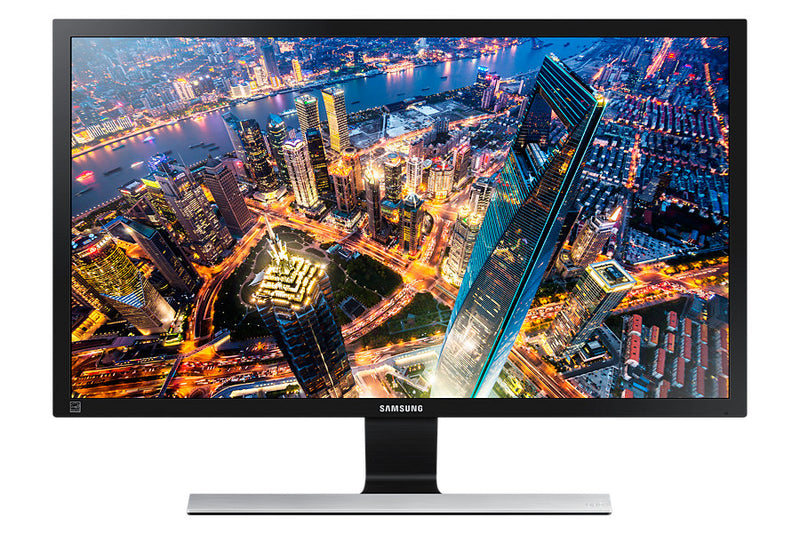 "Samsung LU28E570DS LED display 71.1 cm (28"") 3840 x 2160 pixels 4K Ultra HD Black, Silver"