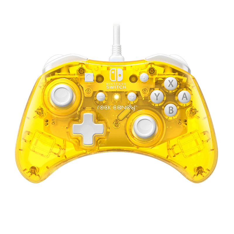 PDP Rock Candy Gamepad Nintendo Switch USB Yellow
