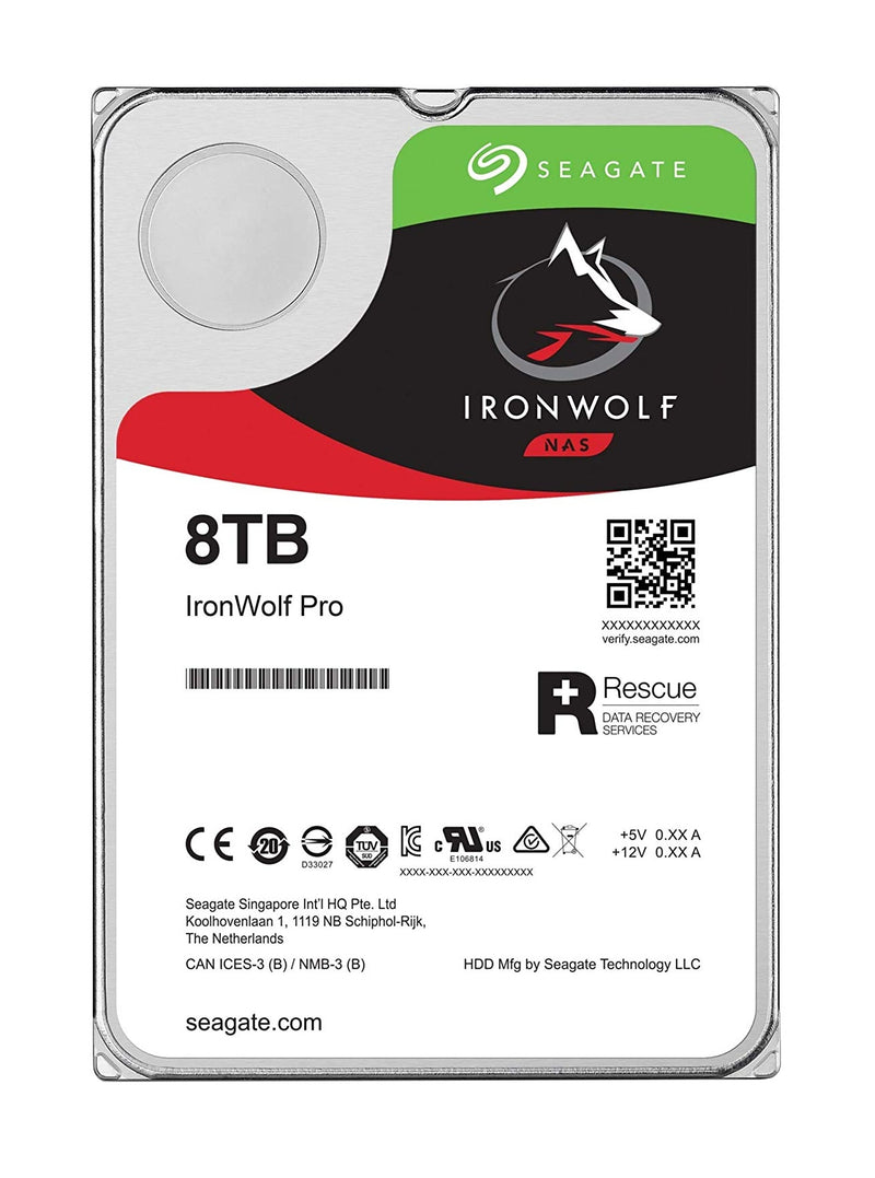 "Seagate IronWolf Pro ST8000NE001 internal hard drive 3.5"" 8000 GB Serial ATA III"