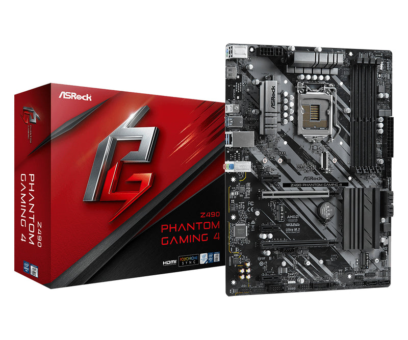 Asrock Z490 Phantom Gaming 4 ATX Intel Z490