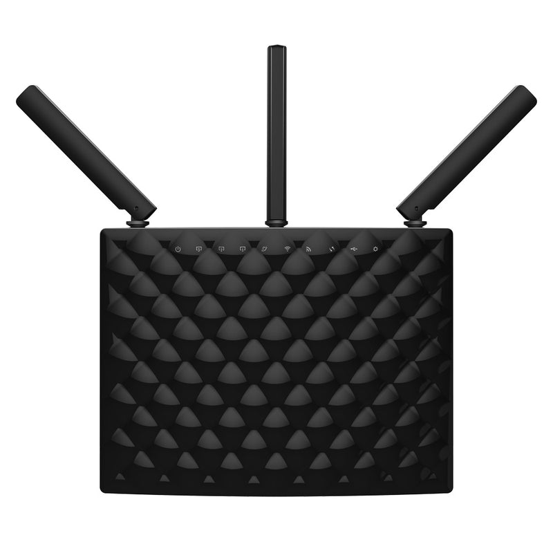 Tenda AC15 wireless router Gigabit Ethernet Dual-band (2.4 GHz / 5 GHz) Black