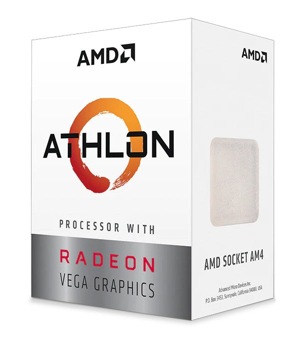 AMD Athlon 3000G processor Box 3.5 GHz 4 MB L3