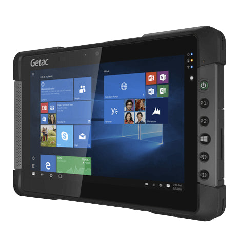"Getac T800 G2 20.6 cm (8.1"") Intel Atom® 8 GB 128 GB Wi-Fi 4 (802.11n) Black Windows 10 Pro"