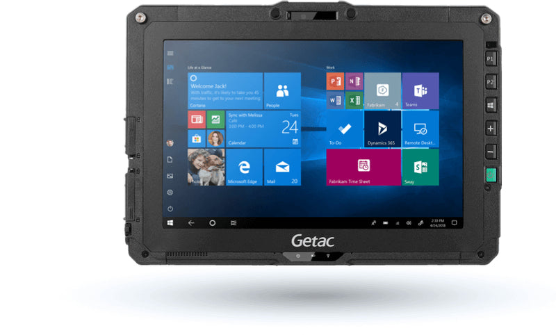 "Getac UX10 25.6 cm (10.1"") 8th gen Intel® Core™ i5 8 GB 256 GB Wi-Fi 5 (802.11ac) 4G Black Windows 10 Pro"