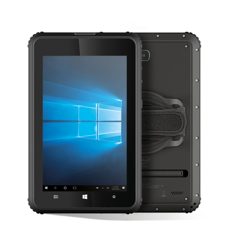 "Newland Nquire 800 II+ 20.3 cm (8"") Intel Atom® 4 GB 64 GB Wi-Fi 4 (802.11n) 3G Black Windows 10 Pro"