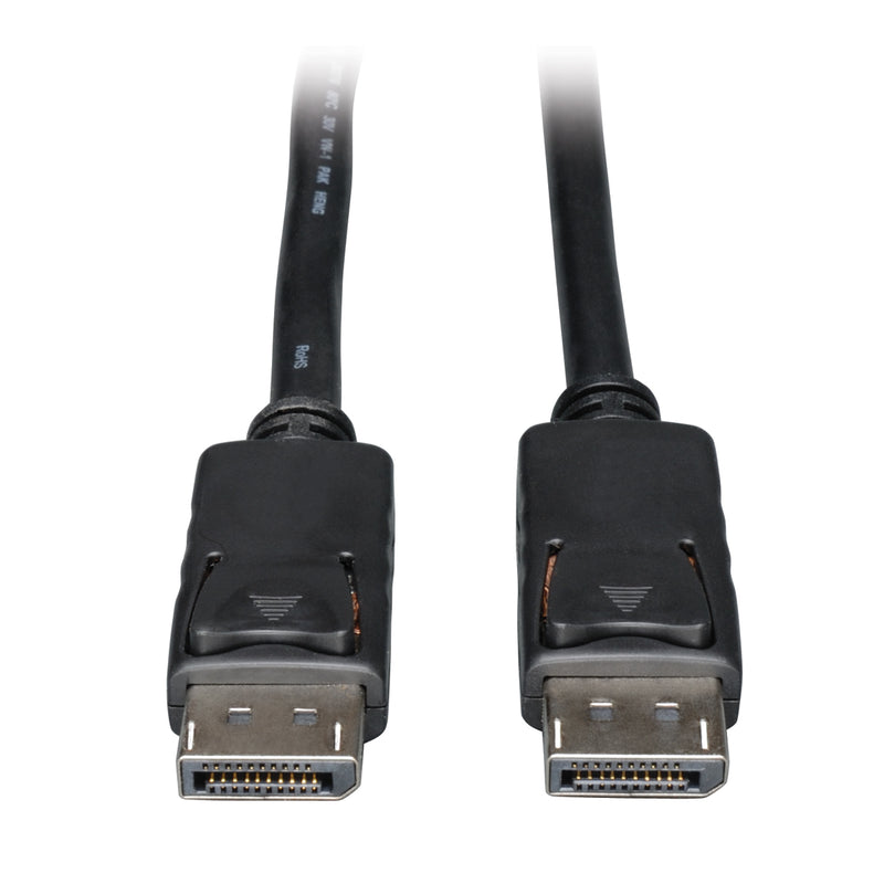 Tripp Lite DisplayPort Cable with Latches (M/M), 4K x 2K 3840 x 2160, 3.05 m (10-ft.)