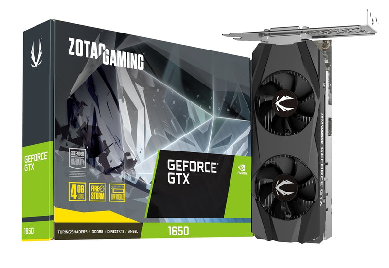 Zotac ZT-T16500H-10L graphics card NVIDIA GeForce GTX 1650 4 GB GDDR5