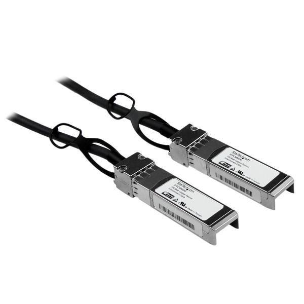 StarTech.com Cisco SFP-H10GB-CU3M Compatible 3m 10G SFP+ to SFP+ Direct Attach Cable Twinax - 10GbE SFP+ Copper DAC 10 Gbps Low Power Passive Mini GBIC/Transceiver Module DAC Firepower ASR920 ASR9000