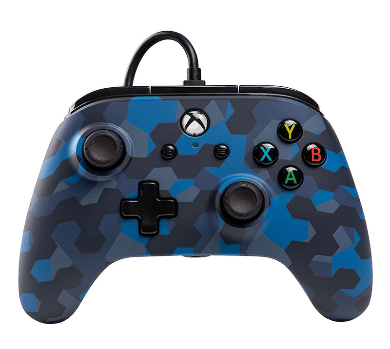 PowerA 1508488 Gaming Controller Gamepad Xbox One Analogue / Digital USB Blue, Camouflage