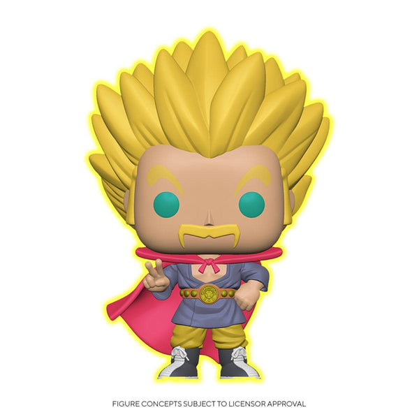 Super Saiyan Mr. Satan (Glow) Dragon Ball Super POP! Animation Vinyl Figur Speciality Series