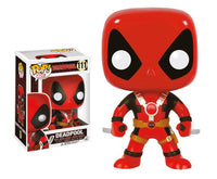Marvel Comics POP! Vinyl Wackelkopf - Deadpool Two Swords