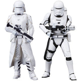 Star Wars Episode VII ARTFX+ - 2er Pack First Order Snowtrooper & Flametrooper