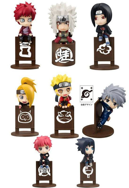 Naruto Shippuden - Ochatomo Series Sammelfiguren 5 cm Let's Enjoy Tea Together Sortiment 8 Stk.