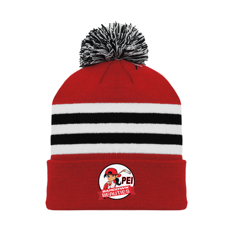 Tuque with Embroidered Logo - Bardown Beauties