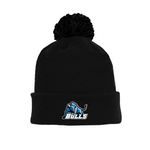 Tuque with Embroidered Logo - Bulls