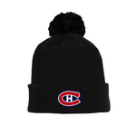 Tuque with Embroidered Logo - Canadiens