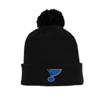 Tuque with Embroidered Logo - Blues