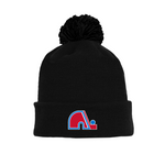 Tuque with Embroidered Logo - Nordiques