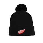 Tuque with Embroidered Logo - Red Wings