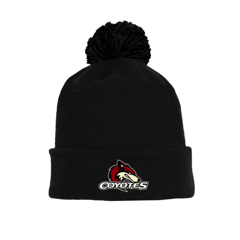 Tuque with Embroidered Logo - Coyotes