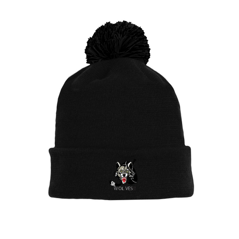 Tuque with Embroidered Logo - Wolves