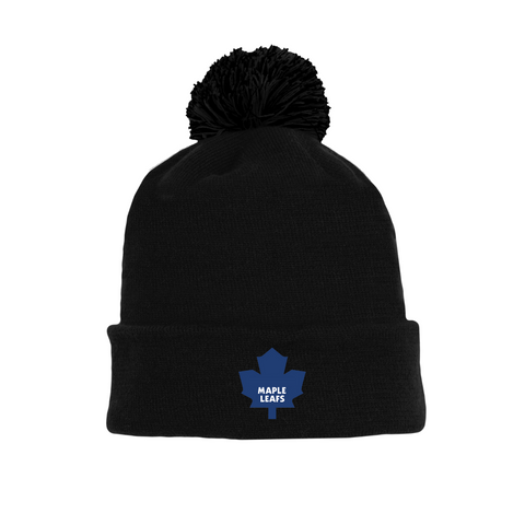 Tuque with Embroidered Logo - Maple Leafs