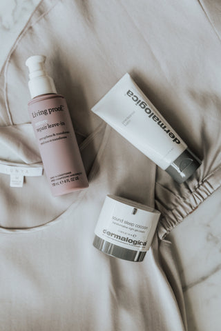 giveaway, sweepstakes, dermalogica, living proof, lunya