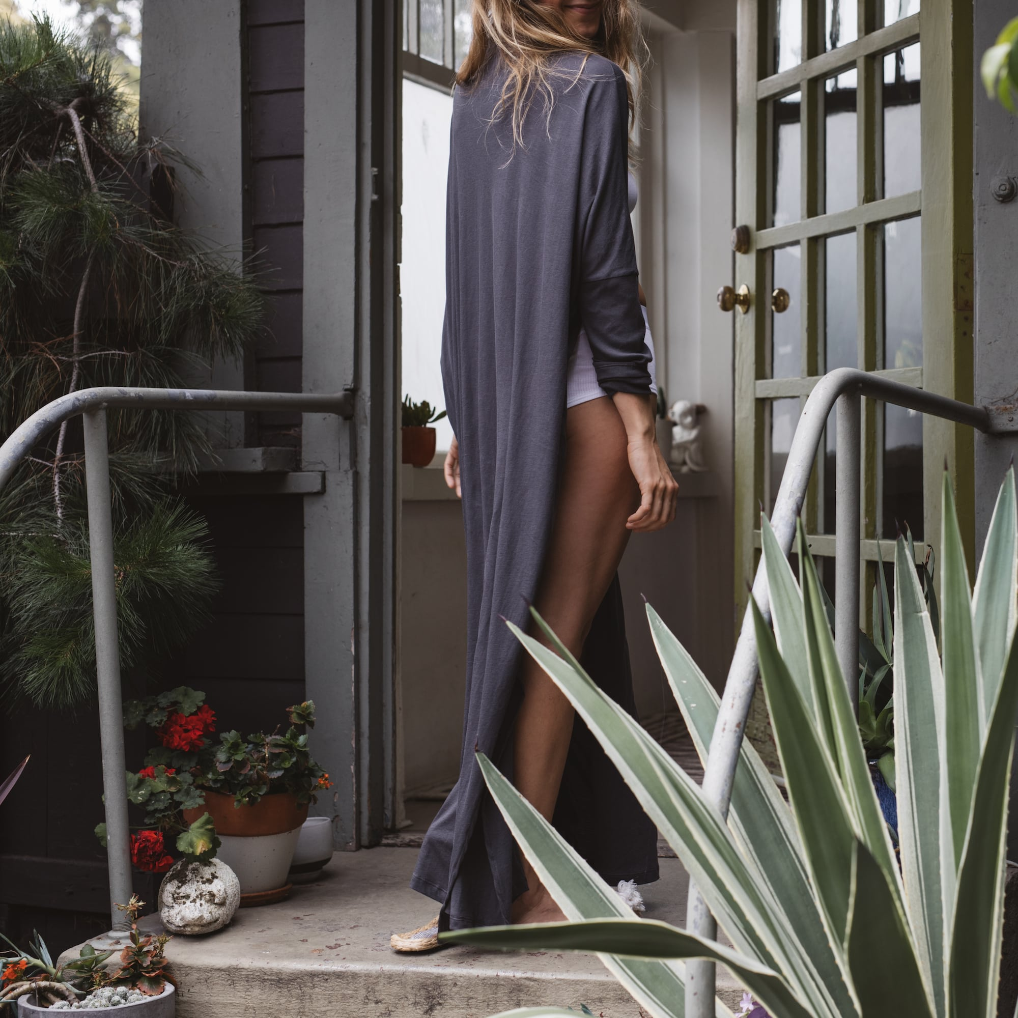 The Pima Long Cardigan