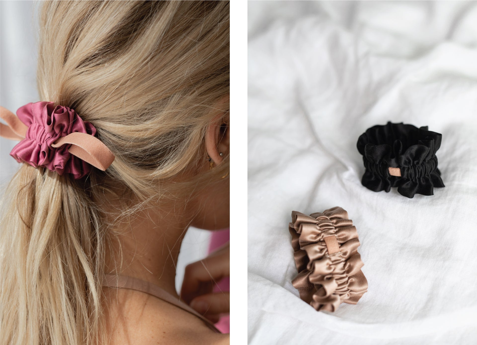 Lunya Washable Silk Scrunchie