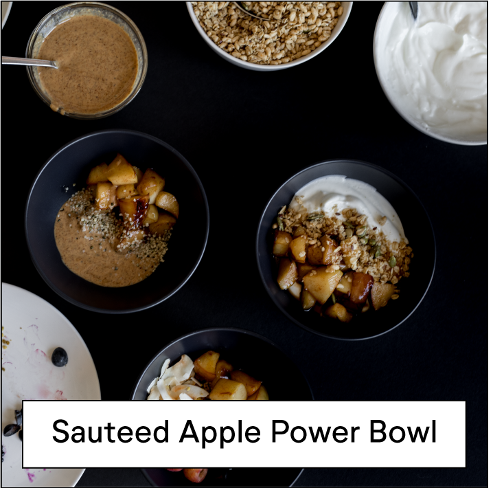 Sateed Apple Bowl
