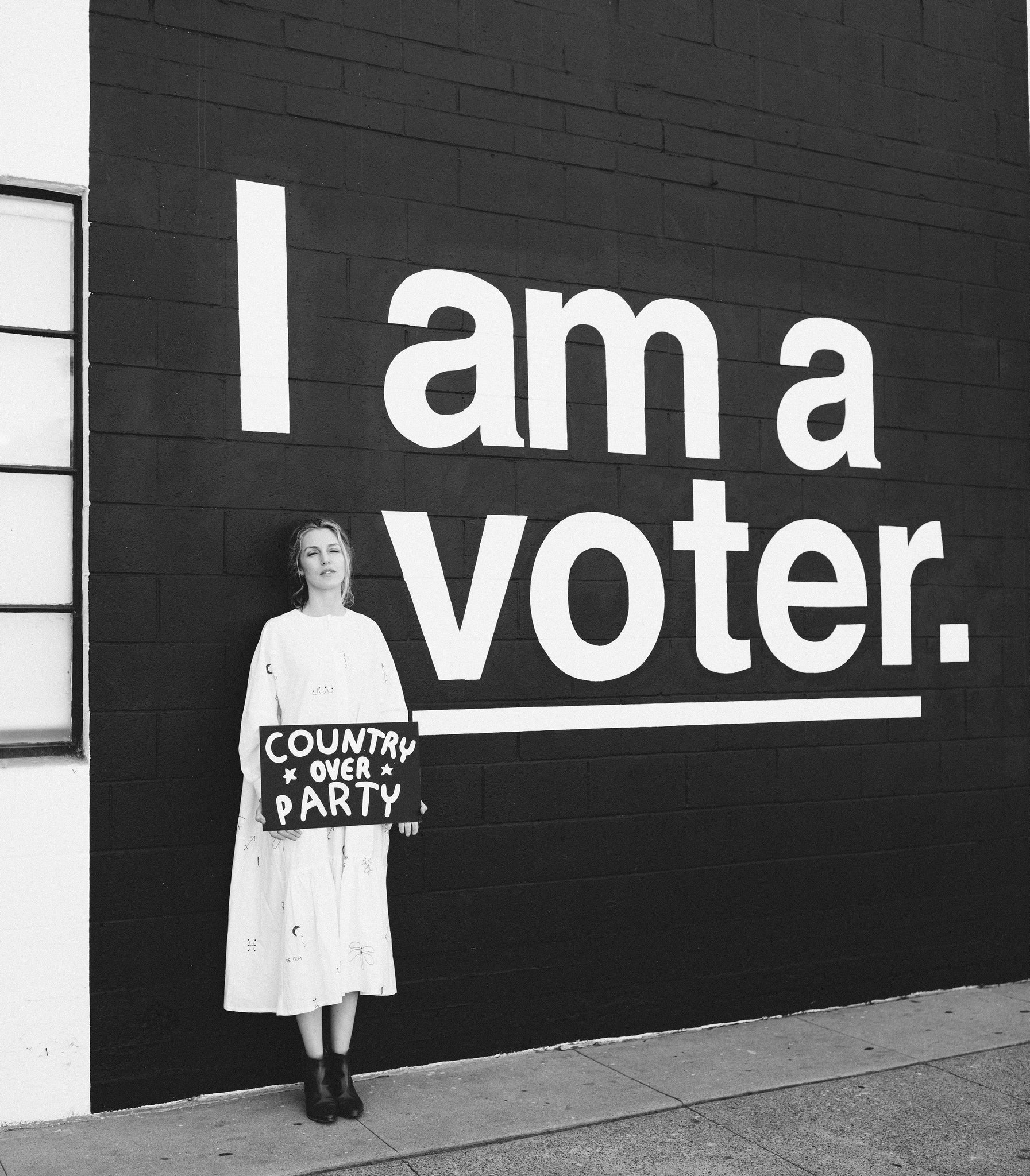 Ashley - I am a voter