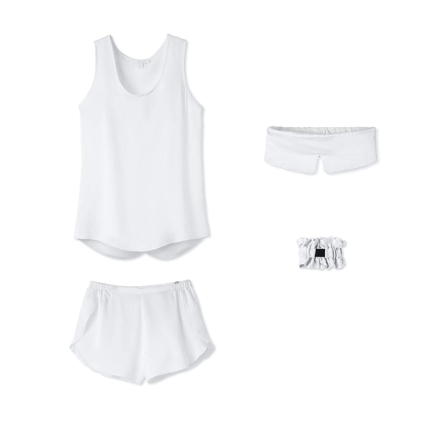 Lunya Sleepwear Washable Silk Dream Kit - #Starlight